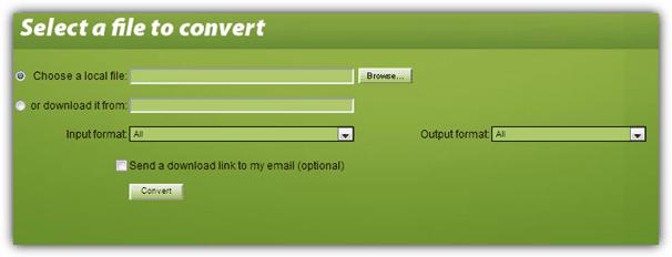 Конвертировать файлы