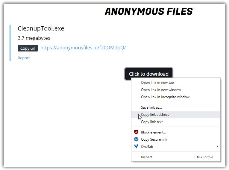 AnonymousFiles
