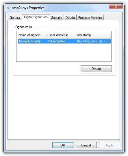 Elite Keylogger подписанный драйвер
