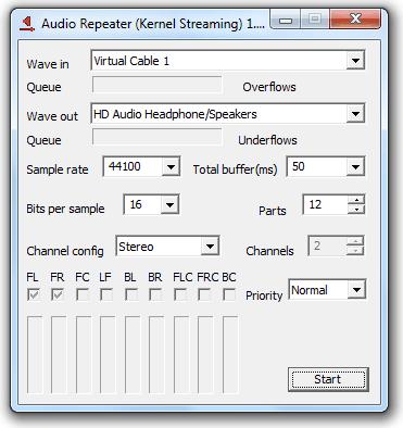 Аудио репитер для наушников