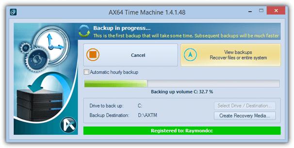 Ax64 машина времени