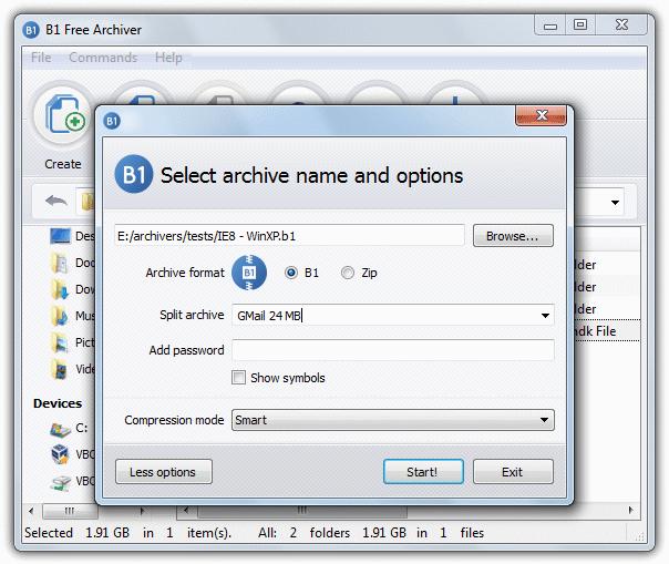 """alzip """"src ="""" https://img.raymond.cc/blog/wp-content/uploads/2012/09/alzip.png """"/></p> <p>ALZip раньше был условно-бесплатным, но разработчик сделал его доступным для бесплатного использования, ключ продукта отображается на их веб-сайте при загрузке программы. ALZip поддерживает распаковку 40 форматов архивов, таких как 7z, RAR, CAB и ISO, и может сжимать до 8 различных типов, включая собственный формат EGG, который обычно обеспечивает лучшее сжатие, чем ZIP. Доступны такие полезные опции, как настройка антивируса для сканирования вручную, командная строка, span, объединение и восстановление поврежденных архивов.</p> <p>Проверенная версия: 8.51<br /> Поддержка Omni.ja: Да<br /> Цена: бесплатно</p> <p>Максимальное сжатие используется: EGG Priority на коэффициент сжатия</p> <p>3. <strong>B1 Бесплатный архиватор</strong></p> <p><img width="""