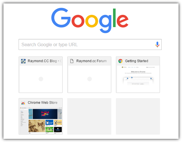 Chrome Новая вкладка