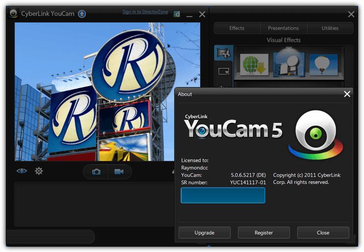 cyberlink youcam version 5