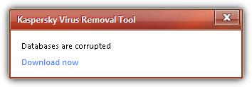 базы данных повреждены