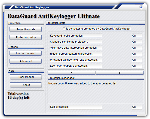 DataGuard AntiKeylogger Ultimate