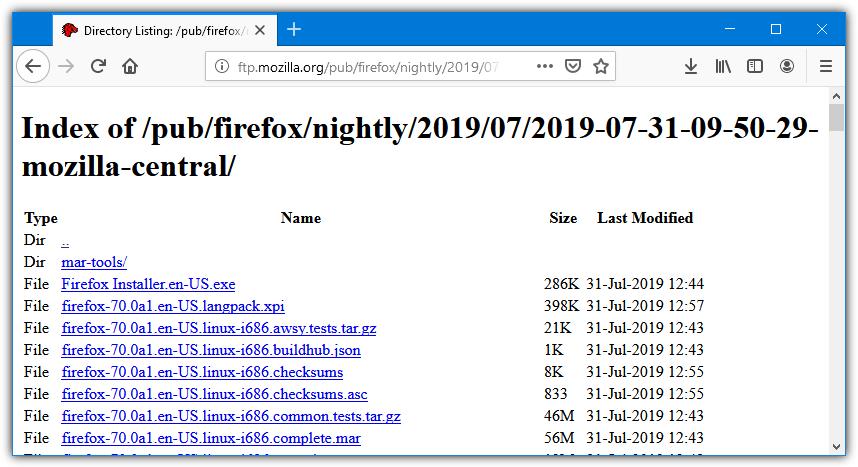 список каталогов сайта