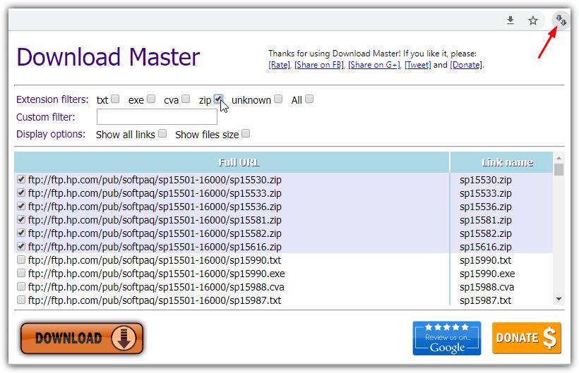 скачать мастер расширение Chrome
