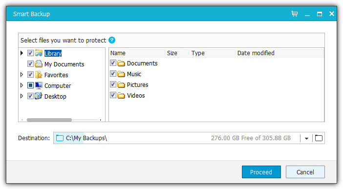 Easyus Smart Backup