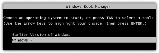 Более ранняя версия Windows