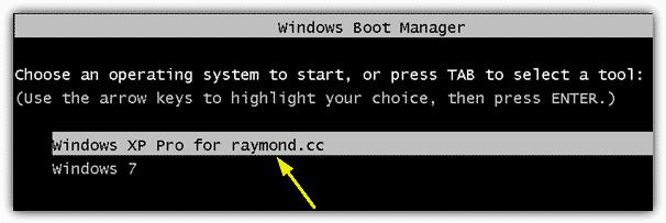 Выберите операционную систему для запуска