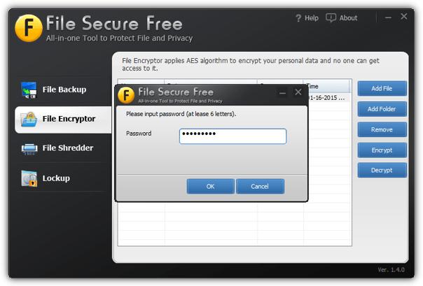 файл безопасный бесплатный шифровать
