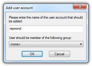 FileZilla Добавить учетную запись пользователя