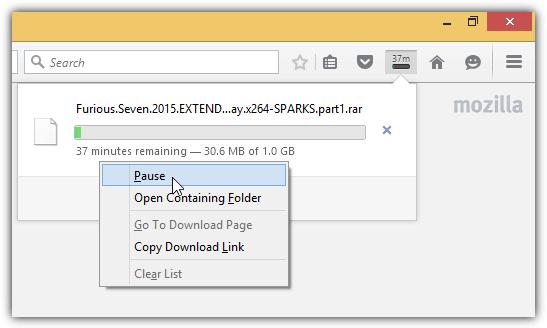 Firefox Пауза скачать