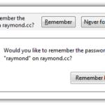 Взлом Firefox для автоматического сохранения пароля без отображения уведомлений