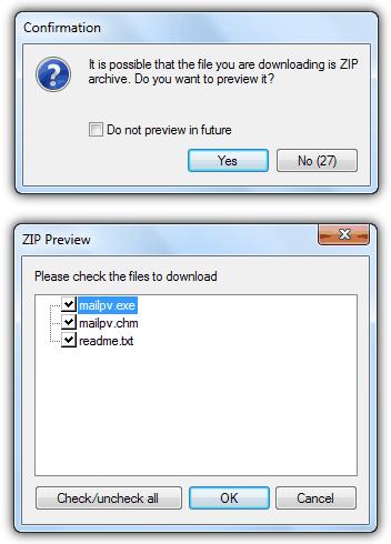 FDM Zip Preview