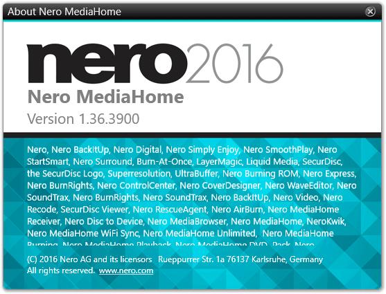 бесплатный Nero MediaHome