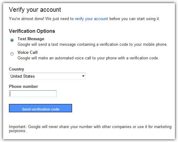 Gmail Подтвердите свой аккаунт