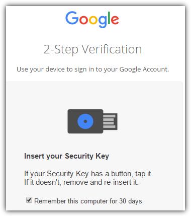 google login Двухэтапная проверка