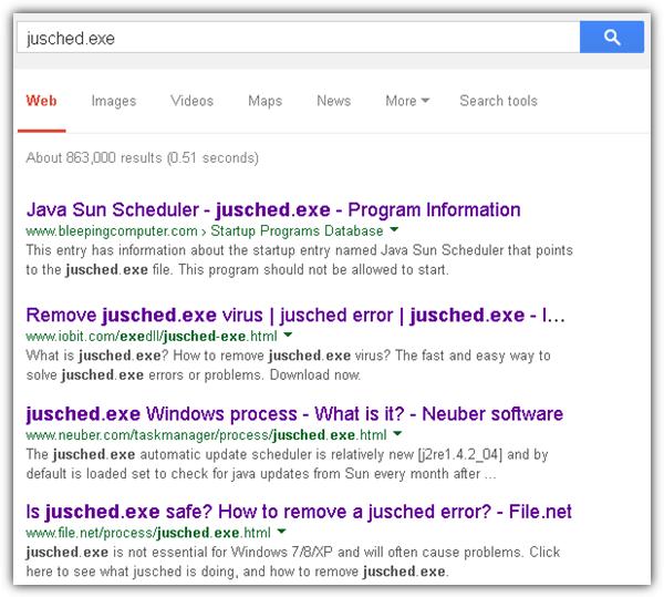 Google Search Filename