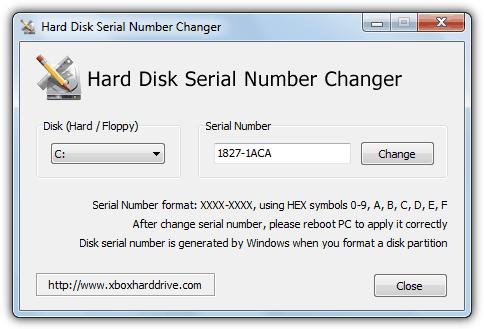 устройство смены серийного номера жесткого диска