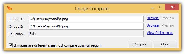 сравнение изображений