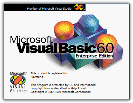 установить Visual Basic VB6