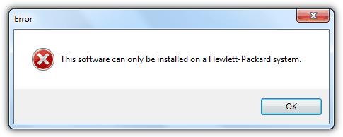 сбой установки HP cyberlink youcam
