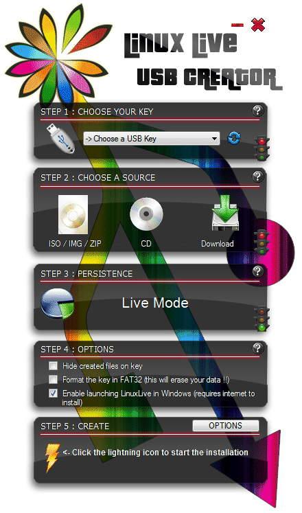 Создатель Linux Live USB