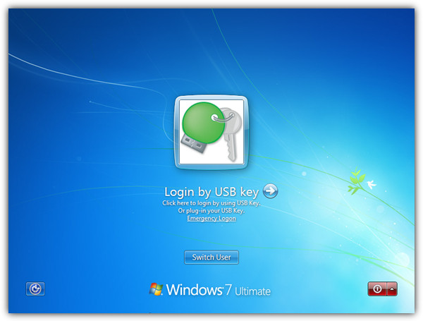 Вход через USB-ключ
