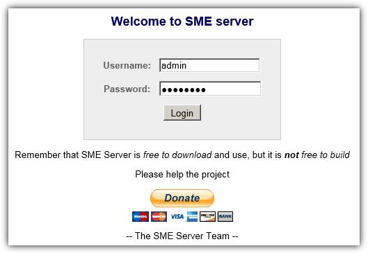 вход в систему веб-интерфейс
