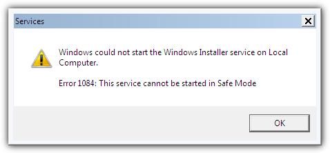 Windows не может запустить службу установщика Windows на локальном компьютере