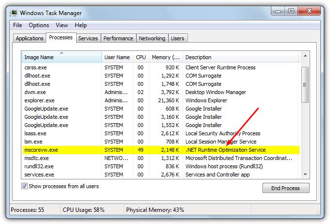 Сервис оптимизации .NET Framework