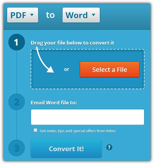 """ConvertOnlinefree """"src ="""" https://img.raymond.cc/blog/wp-content/uploads/2012/06/ConvertOnlinefree.png """"/></p> <p>ConvertOnlineFree может производить преобразования как DOCX, так и более старых форматов DOC, вам просто нужно выбрать соответствующую вкладку и затем найти файл для преобразования. После завершения преобразования документ Word загрузится в ваш браузер. Дополнительный сервер из Германии доступен, если у вас возникли трудности, которые, как мы обнаружили, были намного быстрее для конверсий.</p> <p>7. <strong>Nitro PDF Cloud</strong></p> <p>Как известное имя в программном обеспечении PDF, мы чувствовали, что должны были попробовать это, хотя он предлагает только 5 преобразований PDF в DOC в месяц. К счастью, конверсии привязаны к электронной почте, поэтому просто используйте временный адрес электронной почты, чтобы получить еще 5. Бесплатная учетная запись даст вам еще 5 конверсий и возможность подключить облако Nitro к Dropbox, Google Drive или OneDrive, подписывать / делиться PDF-файлами и т. Д. . Ограничение составляет 50 страниц и PDF менее 5 МБ.</p> <p><img width="""