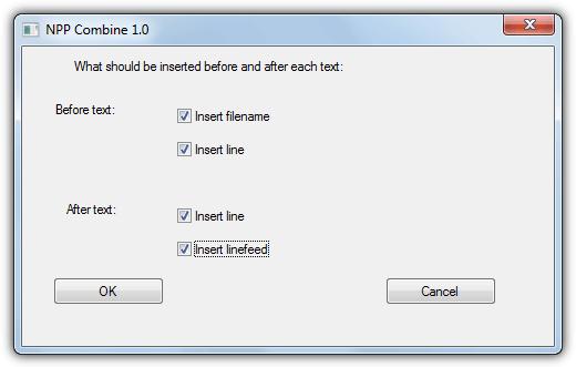 notepad ++ объединить плагин