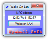 Nyxbull Wake on Lan