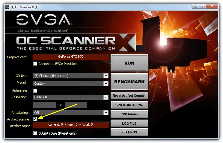 OC сканер х