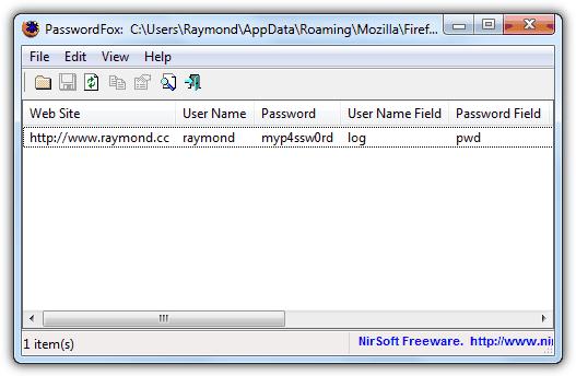 PasswordFox