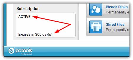 полная 265-дневная зарегистрированная лицензия