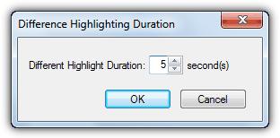 Различная продолжительность подсветки
