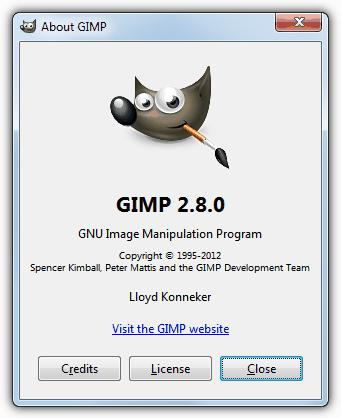 Редактировать PSD с GIMP