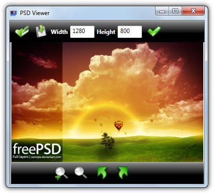 PSD Viewer