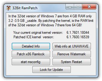 32-битный RamPatch