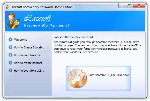 Записать загрузочный CD / USB диск сейчас