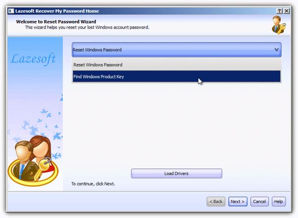 найти ключ продукта Windows