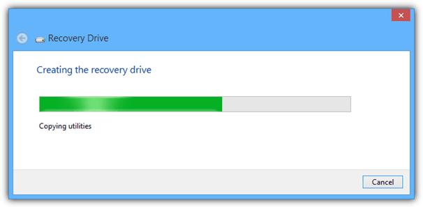 создание рекавери USB