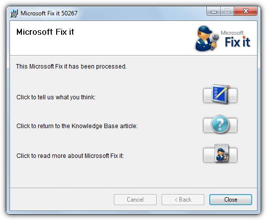сбросить файл hosts с помощью fixit 50267