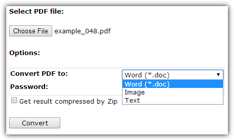 SautinSoft PDF в Word онлайн бесплатно