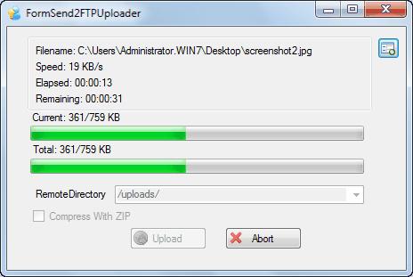 Send2FTP