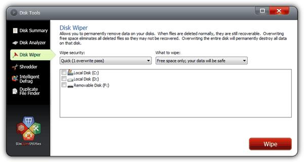 Очиститель дисков SlimCleaner